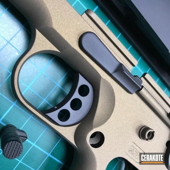 Cerakoted: Graphite Black H-146,Kimber,Two Tone,Burnt Bronze H-148,Pistol