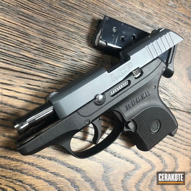 Cerakoted: LCP,Sniper Grey H-234,Ruger,Pistol,Slide