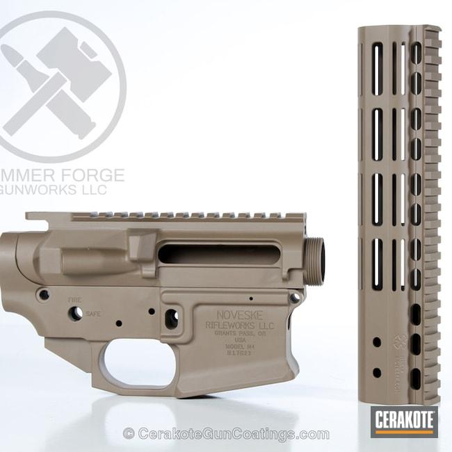 Cerakoted: AR Pistol,MAGPUL® FLAT DARK EARTH H-267,Upper / Lower / Handguard,Noveske,AR-15