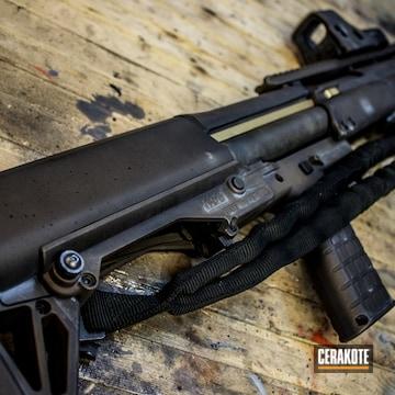 Cerakoted Custom Battleworn Keltec Ksg Shotgun