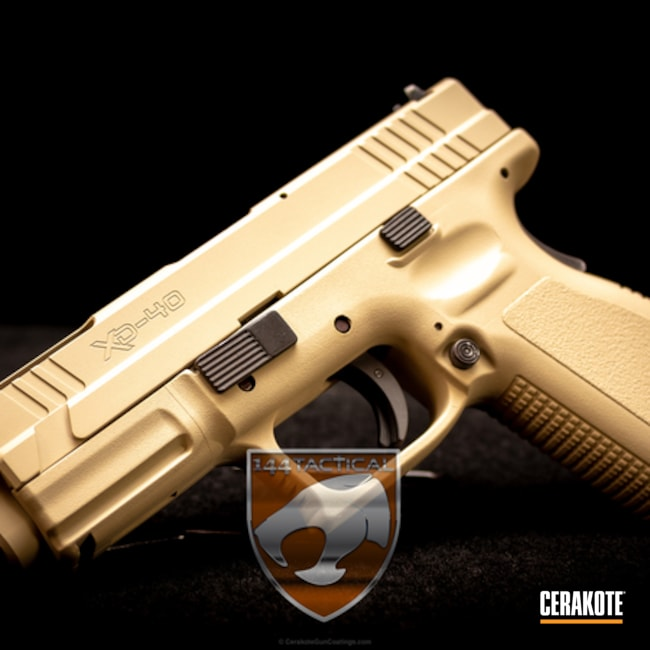 Cerakoted: Springfield XD,BENELLI® SAND H-143,Pistol,Springfield Armory
