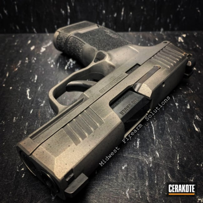 "Thumbnail image for project ""Battleworn Sig Sauer Handgun"""