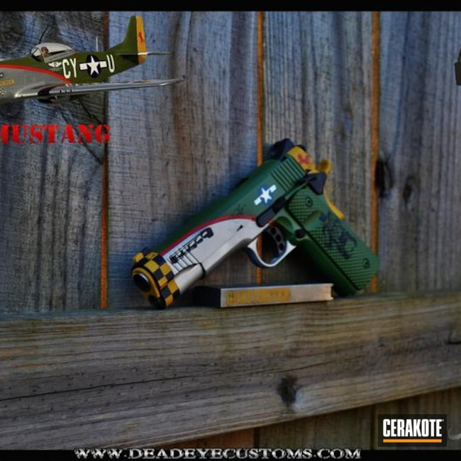 "Thumbnail image for project ""P51 Mustang Themed 1911 Handgun"""