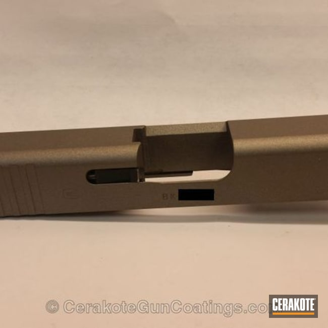 Thumbnail version of the 4th project picture. Glock, Slide, Gun Metal Grey H-219Q, Glock 43