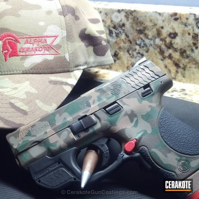 MultiCam Smith & Wesson Handgun