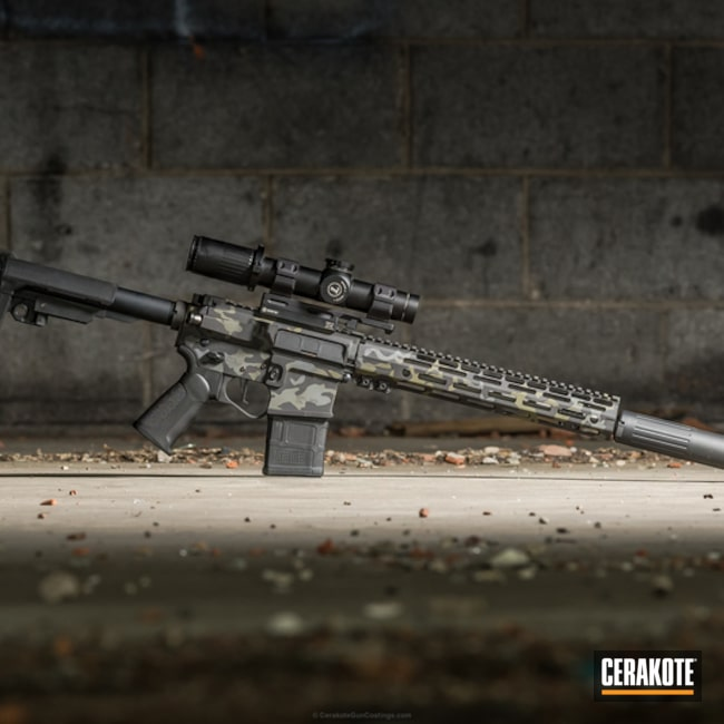 "Thumbnail image for project ""DP-15 RAID AR Pistol in MultiCam Black"""