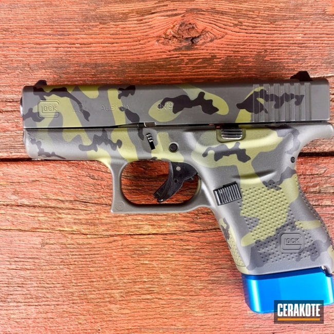 "Thumbnail image for project ""Cerakote MultiCam on this Glock 43 Handgun"""