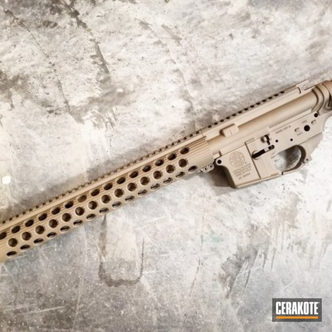 AR-15 Gun Parts done in H-267 MagPul Flat Dark Earth