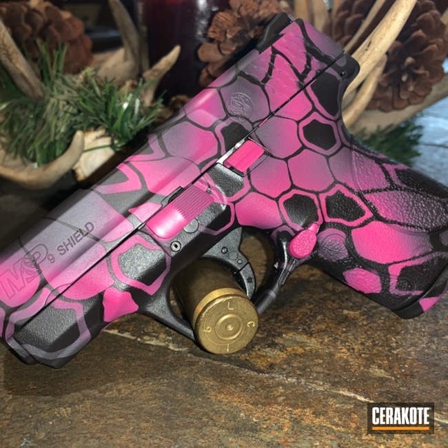 Pink Kryptek Camo Finish