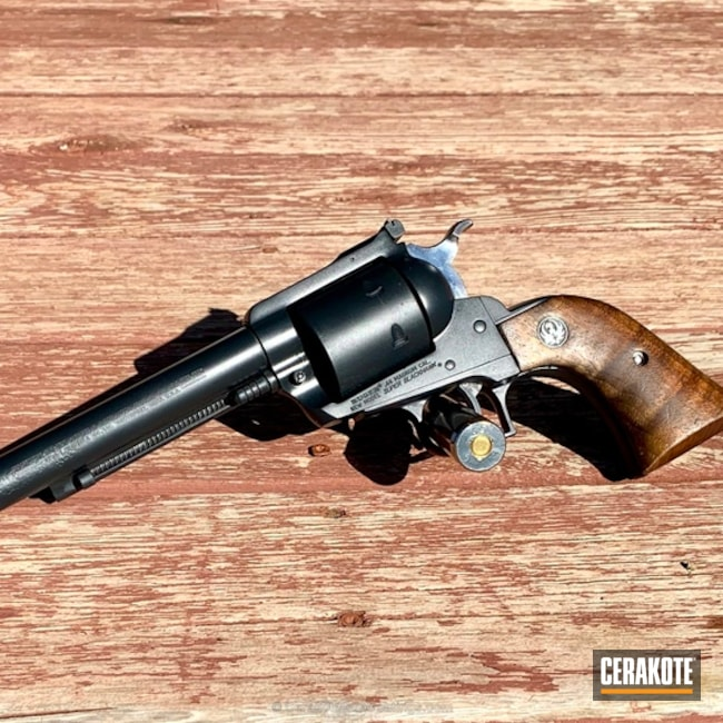 "Thumbnail image for project ""Ruger Blackhawk Revolver done in E-110 Midnight"""