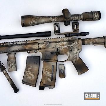 Cerakoted Custom Kryptek Finish On This Long Range Tactical Rifle
