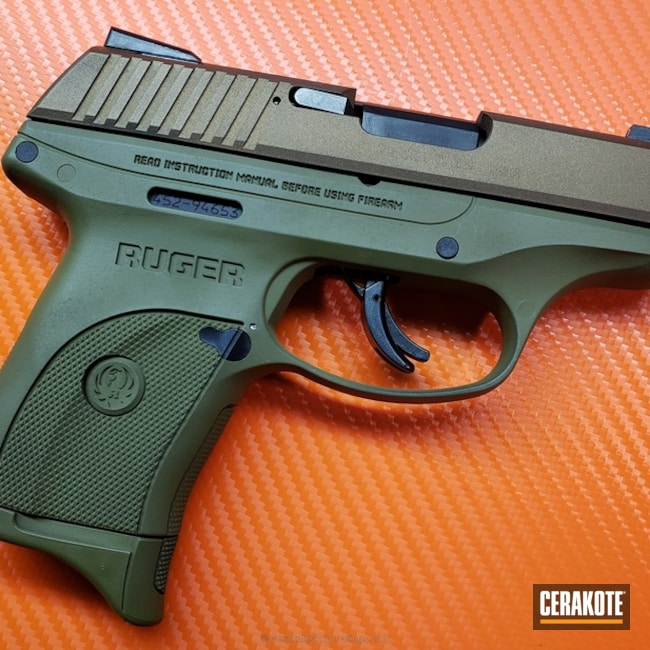 H-148 Burnt Bronze and H-232 MagPul O.D. Green