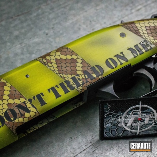 Don't Tread on Me / Snake Skin Cerakote Finish