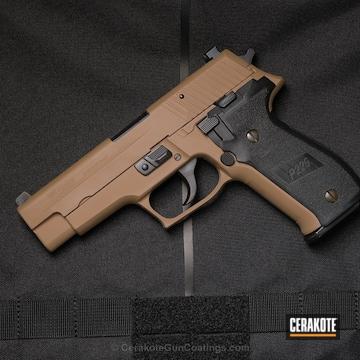 Cerakoted Two Tone Sig Sauer P226