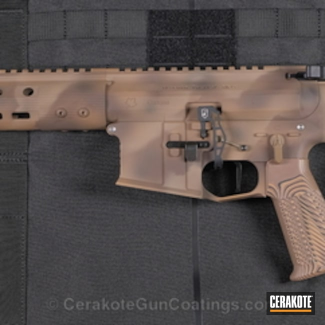 "Thumbnail image for project ""Alberta Tactical Rifle in a Custom Cerakote Camo Finish"""