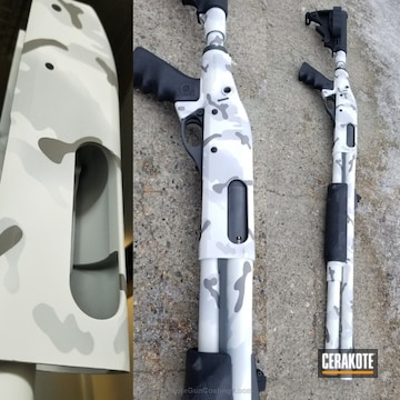 Cerakoted Snow Camo Cerakote Finish
