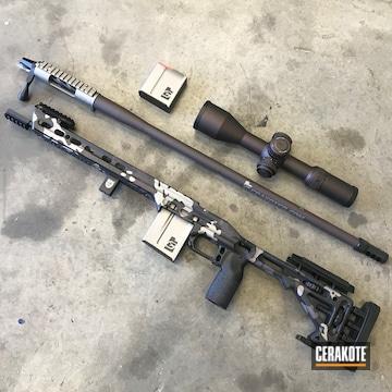 Cerakoted Custom Coated Long Range Gun Parts
