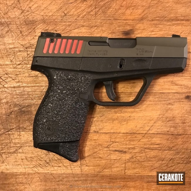H-216 Smith & Wesson Red and H-240 Mil Spec O.D. Green