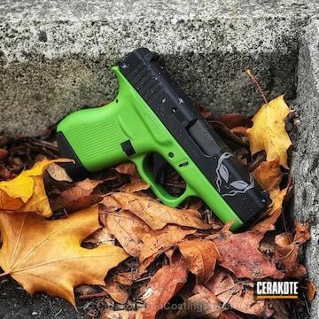 Cerakoted Two Tone Glock 43 Handgun