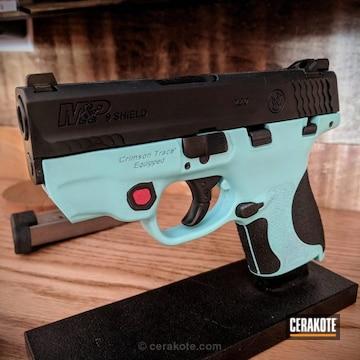 Cerakoted Two Toned Smith & Wesson Handgun