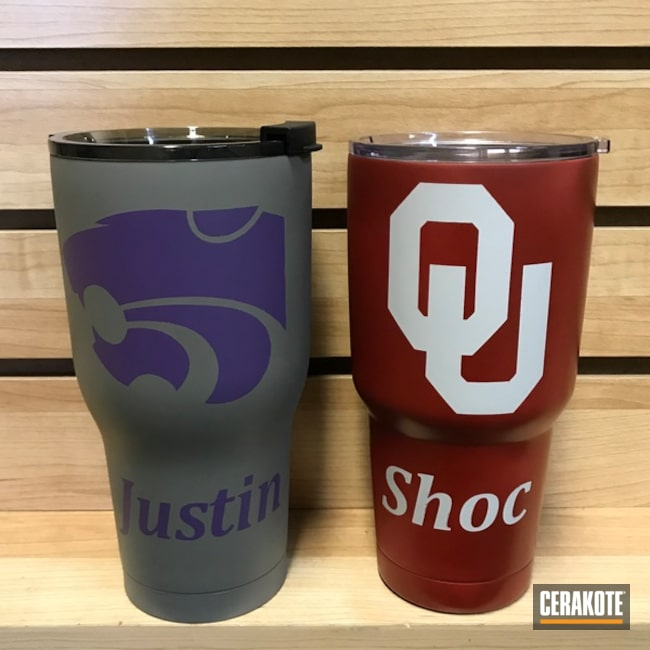 "Thumbnail image for project ""Custom College Themed Tumbler Cups"""