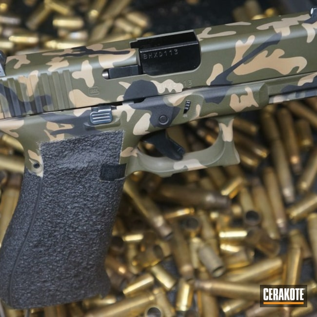 "Thumbnail image for project ""Glock Handgun done in a Cerakote MultiCam Finish"""