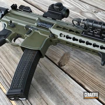 Cerakoted Magpul O.d. Green On This Sig Mpx Ar Pistol