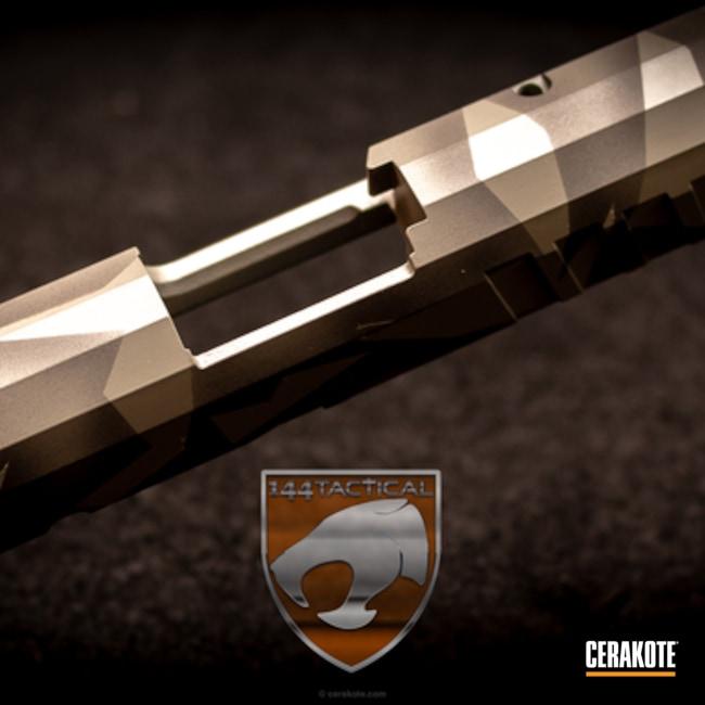 Cerakoted: Custom,Graphite Black H-146,Bull Shark Grey H-214,Slide