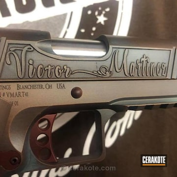Cerakoted Custom Built From The Ground Up Specifically For Victor Martinez