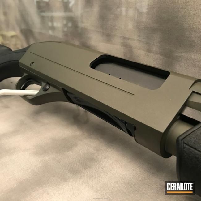 Cerakoted: Winchester,Shotgun,O.D. Green H-236