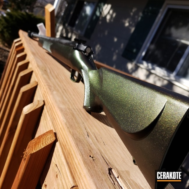Cerakoted: Bolt Action Rifle,Armor Black H-190,GunCandy
