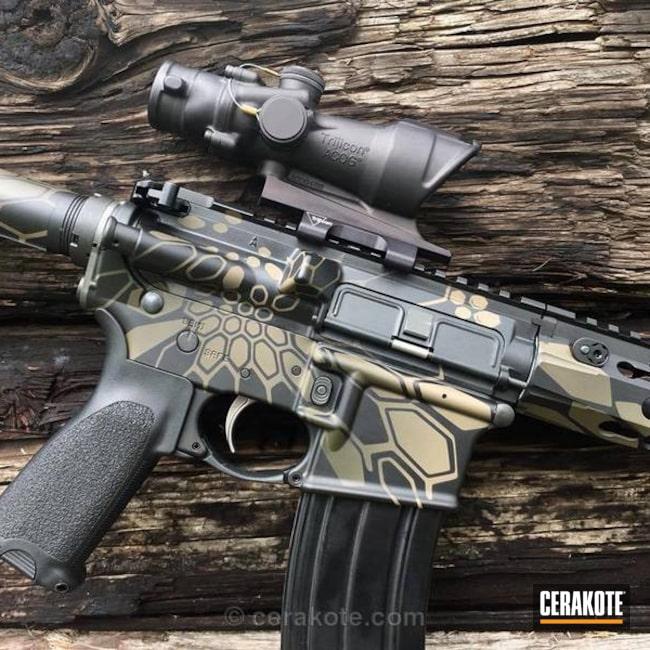 Cerakoted: Rifle,Kryptek,MAGPUL® FLAT DARK EARTH H-267,Graphite Black H-146,Two Tone,Tactical Rifle,Trijicon,Nichols Guns Custom Shop,Bi-Tone,AR-15