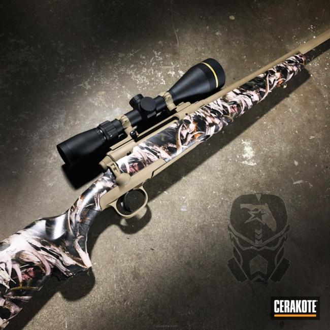 Cerakoted: Bolt Action Rifle,Savage Arms,MAGPUL® FLAT DARK EARTH H-267,Hunting Rifle,Deer Rifle