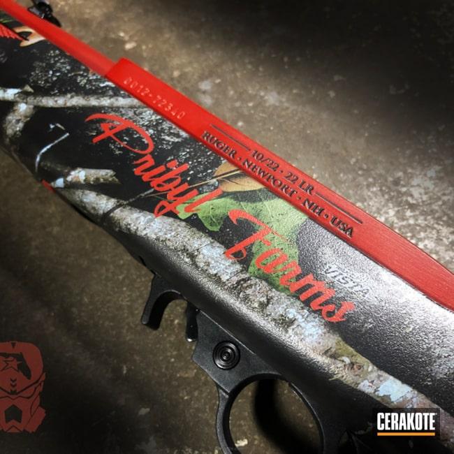 Cerakoted: Rifle,Ruger,Ruger 10/22,Crimson H-221,International Harvester