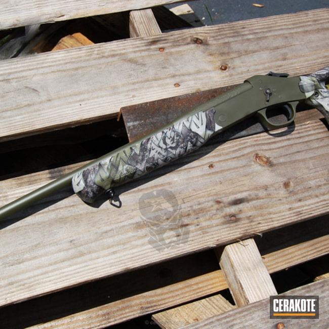 Cerakoted: Shotgun,.410,Forest Green H-248,Rossi USA