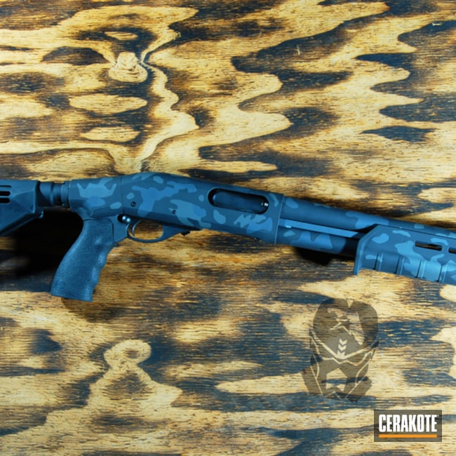 Remington Tac-14 Shotgun in a Urban Camo Finish