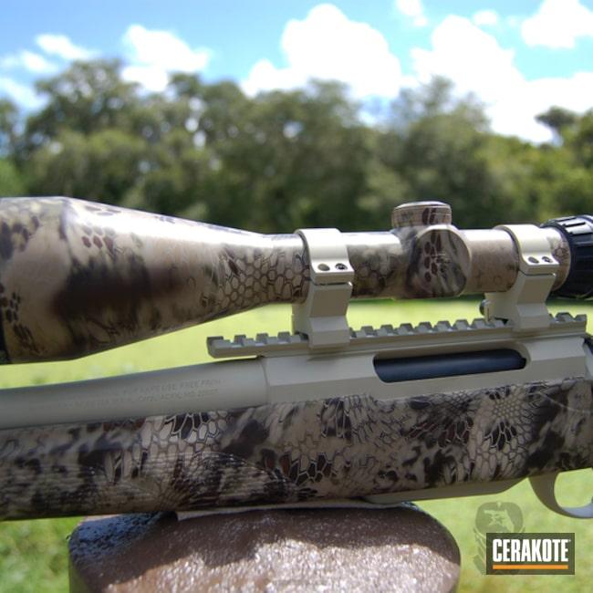 Cerakoted: Bolt Action Rifle,Beretta Tikka T3,Hydrographics,Desert Sage H-247,Kryptek,Highlander Kryptek,Tikka