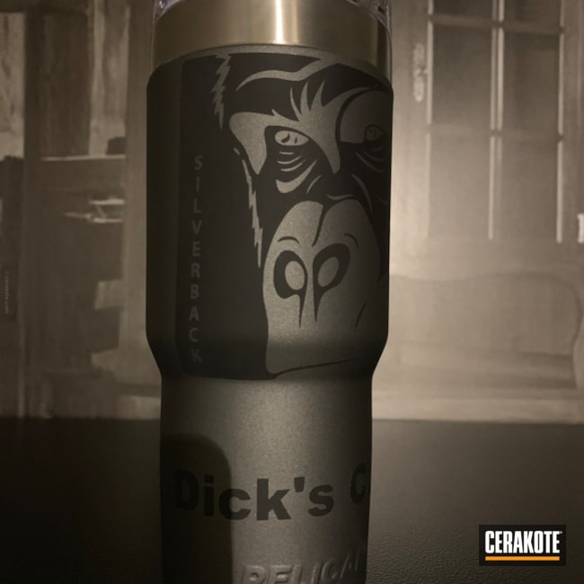 Cerakoted: Graphite Black H-146,Pelican,Tungsten H-237,More Than Guns,Tumbler