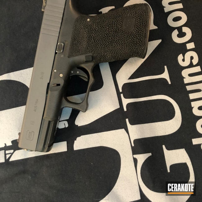 Cerakoted: Glock 19,Sniper Grey H-234,Pistol,Glock