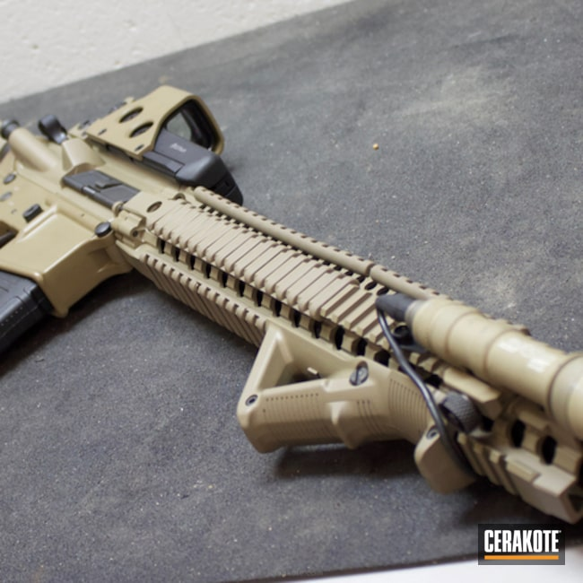 Cerakoted: MAGPUL® FLAT DARK EARTH H-267,MagPul,Tactical Rifle,AR-15