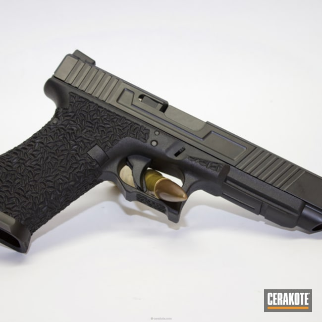 "Thumbnail image for project ""Glock 34 finished in H-146 Graphite Black"""
