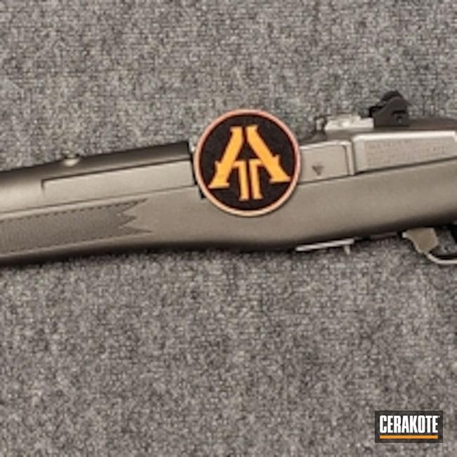 Cerakoted: Rifle,Sniper Grey H-234,Ruger,Mini-30,Semi-Auto,7.62x39mm