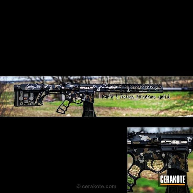 Cerakoted: MultiCam,Custom,224 Valkyrie,Graphite Black H-146,SAVAGE® STAINLESS H-150,Tactical Rifle,Midnight Bronze H-294,Seekins Precision,AR-15