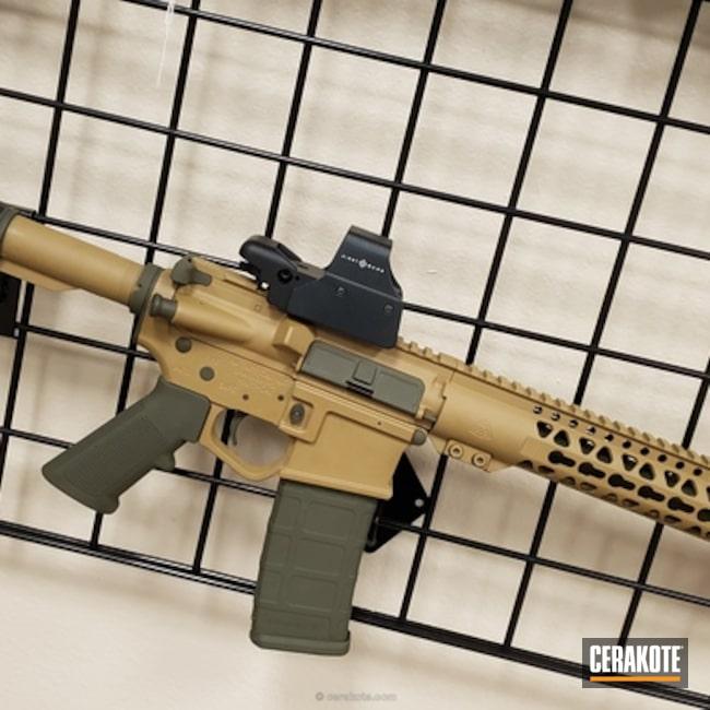 Cerakoted: Noveske Tiger Eye Brown H-187,Mil Spec O.D. Green H-240,Tactical Rifle