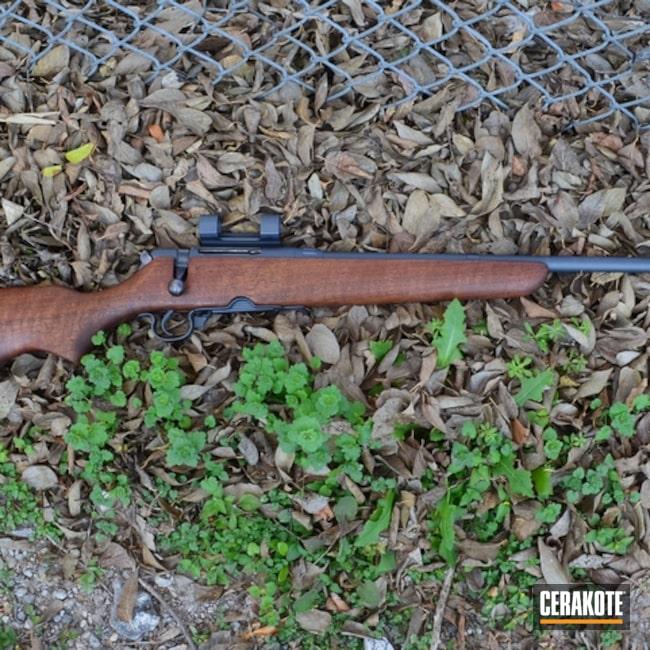 Cerakoted: Bolt Action Rifle,No More Rust,Sniper Grey H-234,Savage 320 Rifle,Savage