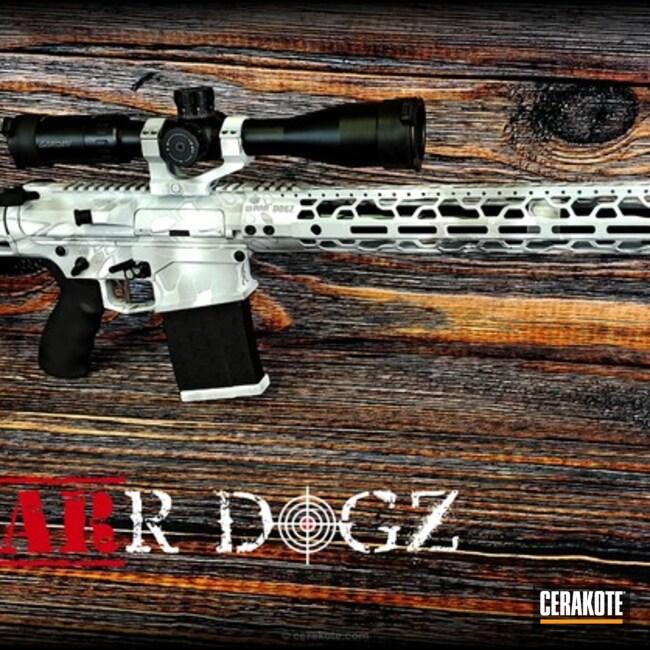 Cerakoted: Bright White H-140,Satin Mag H-147,Kryptek,Snow White H-136,Tactical Rifle,Yeti Kryptek,GunCandy,Snow Camo