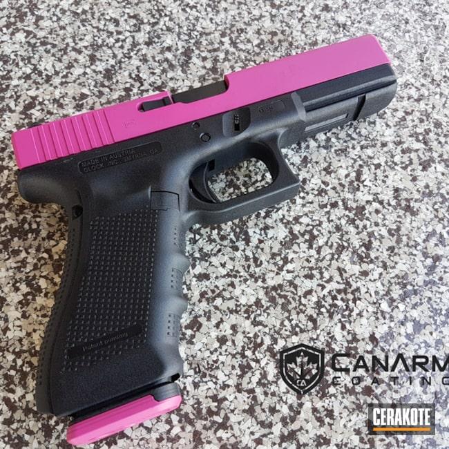 Cerakoted: Pink,Canada,SIG™ PINK H-224,Women's Gun,Pistol,Glock,Glock 17,Handguns