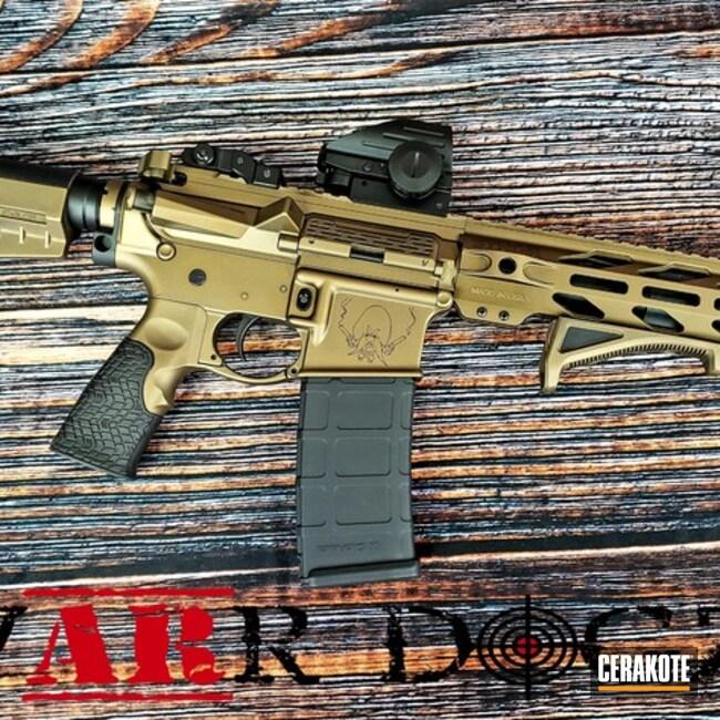 Cerakoted: Graphite Black H-146,Yosemite Sam,Burnt Bronze H-148,Tactical Rifle,SBR,AR-15