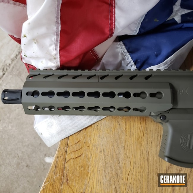 Cerakoted: Two Tone,Sig Sauer,O.D. Green H-236,Sig MPX