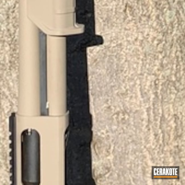 Cerakoted: Shotgun,MagPul,Remington 870,Remington,Flat Dark Earth H-265
